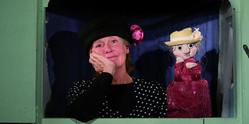 """Foto: Puppenspiel """"Meine Oma ist die Beste"""""""". Fotoautorin: Maren Winter"""